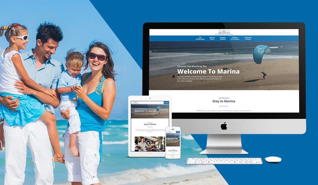 Marina Chamber of Commerce Introduces a New Website For Marina