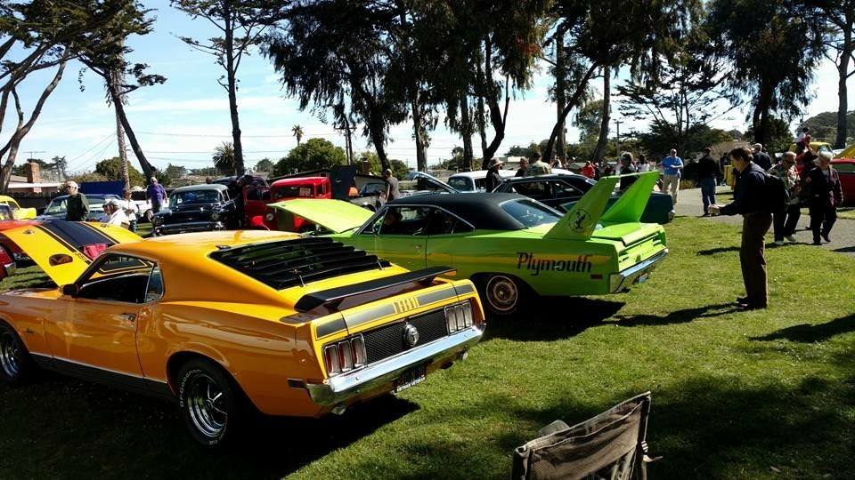 Cars In The Park Car Show - American muscle car show 2018