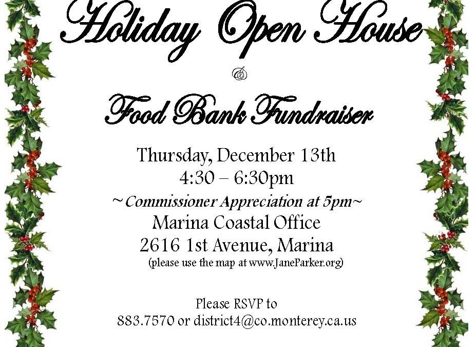 Supervisor Jane Parker's Holiday Open House