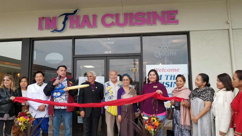I'm Thai Cuisine Ribbon Cutting