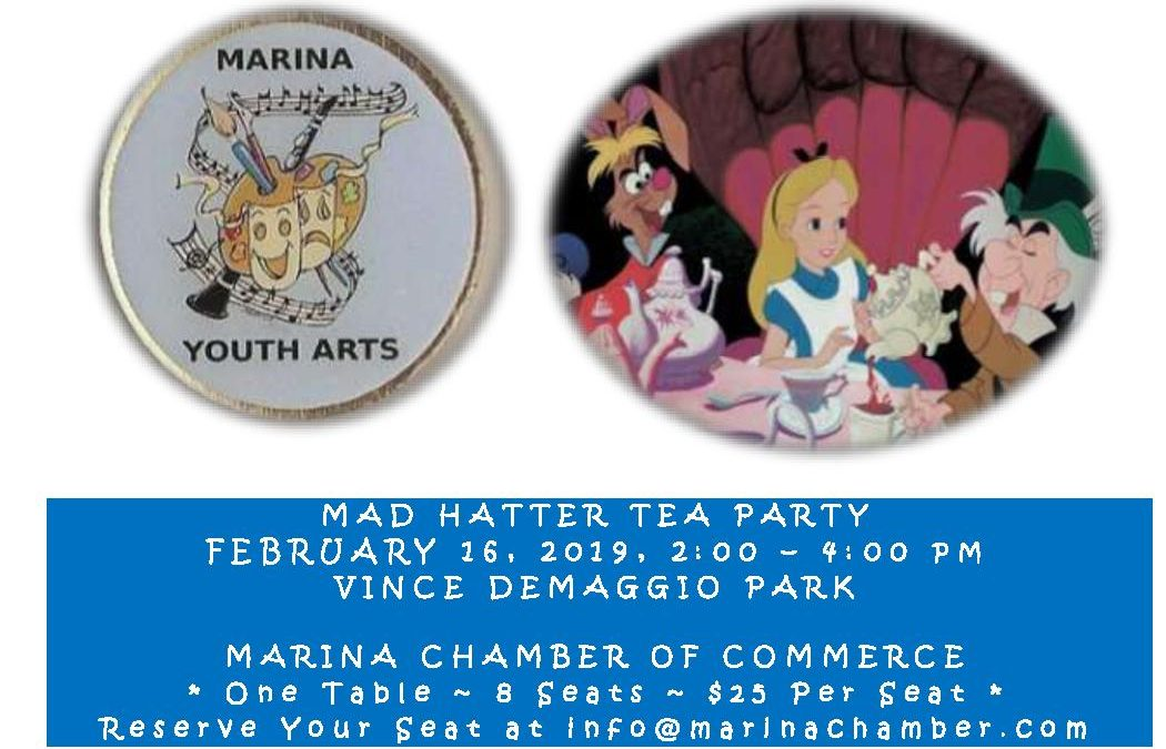 Marina Youth Arts ~ Mad Hatter Tea Party
