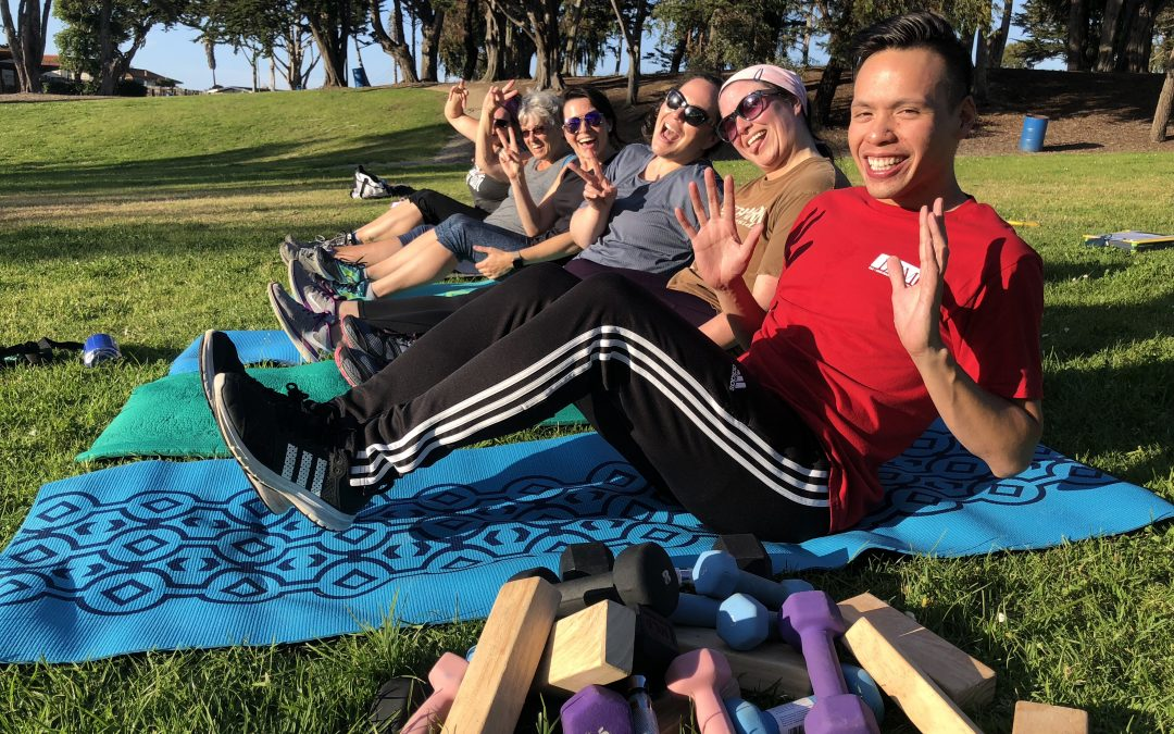 Bootcamp, HIIT, Yoga and Low Impact Outdoor Fitness at Vince DiMaggio Park