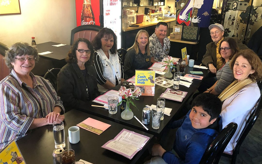 November's First Friday Cash Lunch Mob at Michi Japanese Restaurant