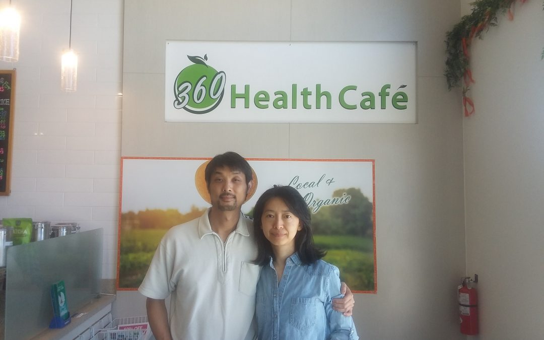 Marina's 360 Health Cafe Interview